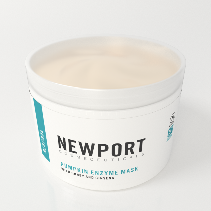 pumpkin enzyme mask by newport cosmeceuticals