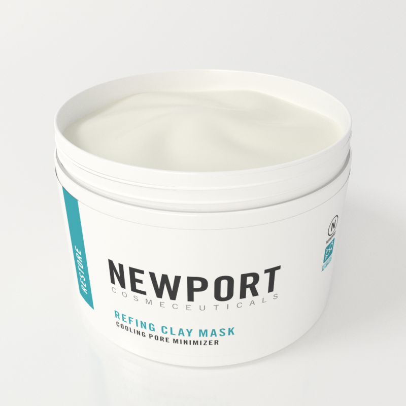 refining clay mask by newport cosmeceuticals